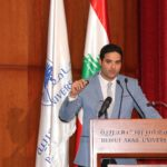 Dr Tamer Presenting in Beirut